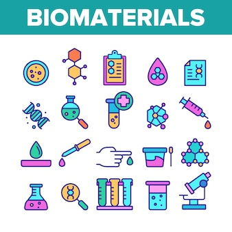 Biomaterials, medical analysis