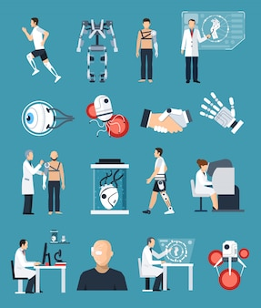 Набор иконок bionics