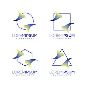 Логотип связки птиц