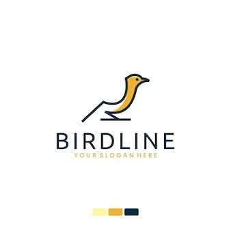 Bird line , logo design inspiration