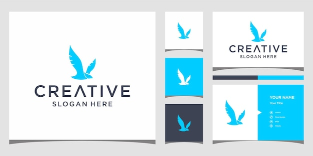명함 템플릿으로 새 로고 디자인