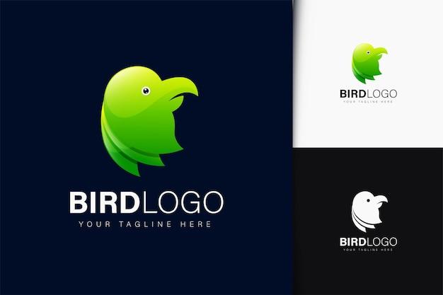 그라데이션이 있는 새 로고 디자인