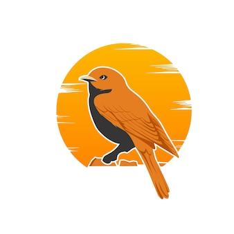 Дизайн логотипа птицы