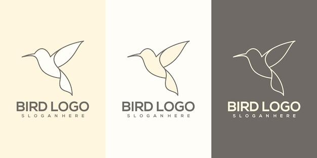 Bird logo ready to use