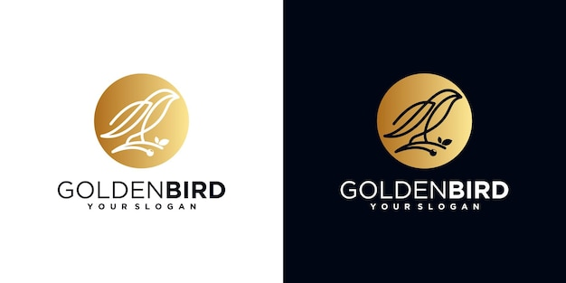 鳥のロゴ、ビジネスロゴのリファレンス