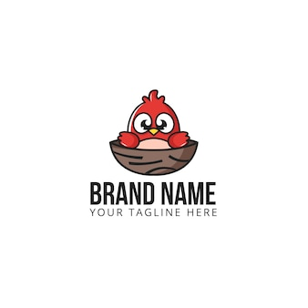 새 둥지 로고