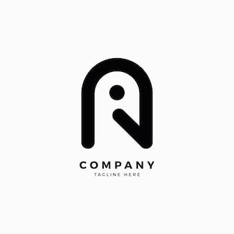 Birdamp a 문자 로고 디자인