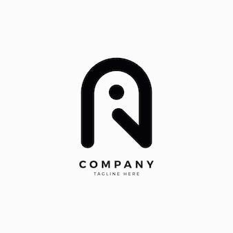 Birdamp a letter logo design