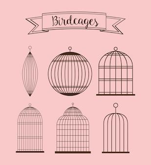 Значок birdcages.