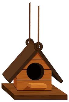 木で作られた巣箱