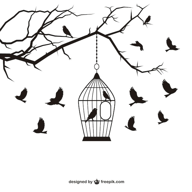 birdcage vectors photos and psd files free download Pig Cage Design birds and cage