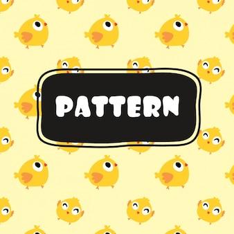 Birds pattern design