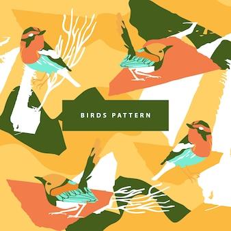 Birdsのパターンと抽象