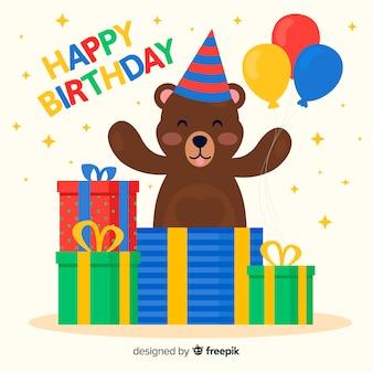 День рождения медведя