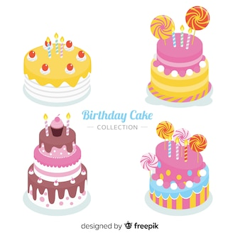 Birthday cake collection