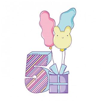誕生日キャンドル番号