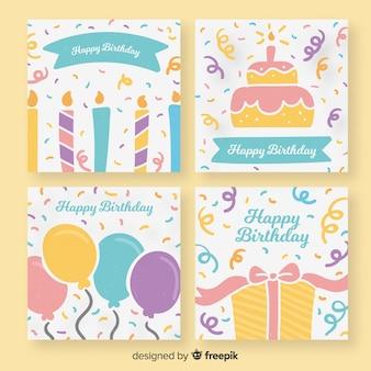 Коллекция поздравительных открыток