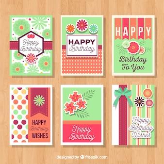 생일 카드 수집