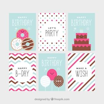 誕生日カードコレクション