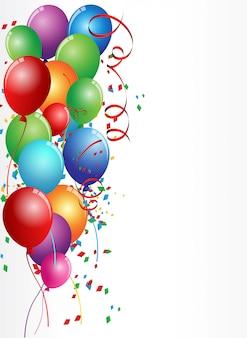 Birthday celebration card design