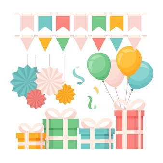 Birthday decoration pack