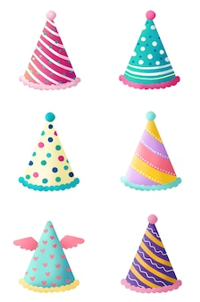 Birthday hat birthday star hat group picture png free material