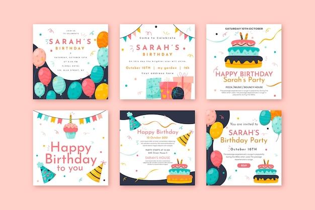 誕生日のinstagramの投稿コレクション