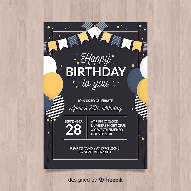 picture relating to Transformer Birthday Invitations Printable Free identified as Birthday Invitation Vectors, Illustrations or photos and PSD documents Cost-free