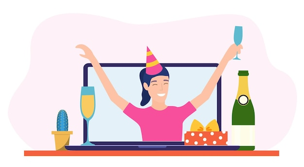 온라인 생일파티,