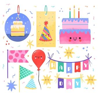 誕生日スクラップブックセット
