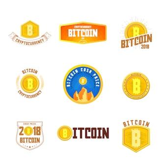 Bitcoin badge