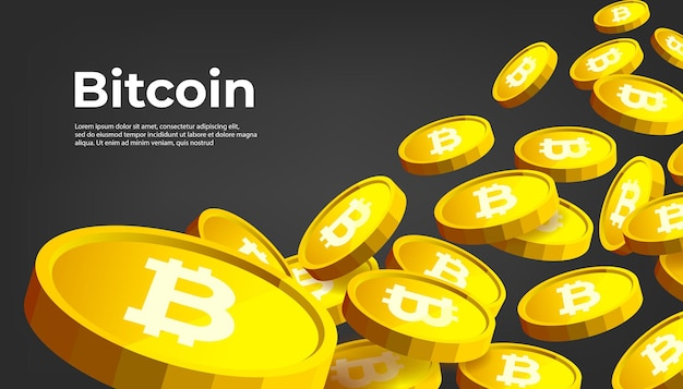 Bitcoin btc 암호 화폐 배너