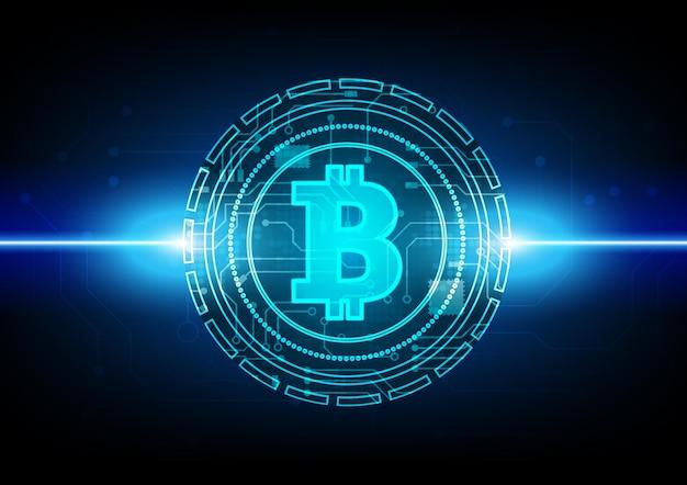 ハイテクデジタルデータ接続システムとビットコイン回路技術の背景