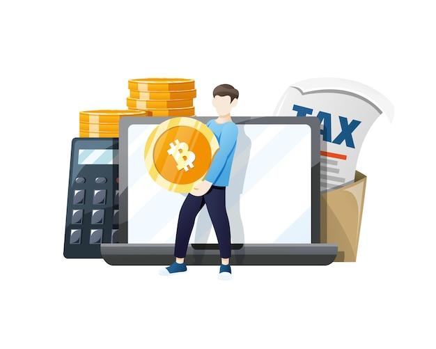 Биткойн-монета не облагается налогом при оплате биткойнами