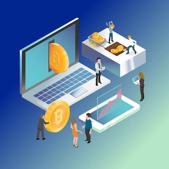 Bitcoin digital crypto currency