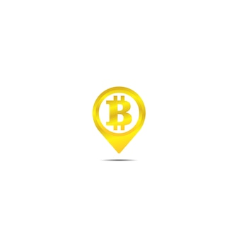 Bitcoin digital currency icon
