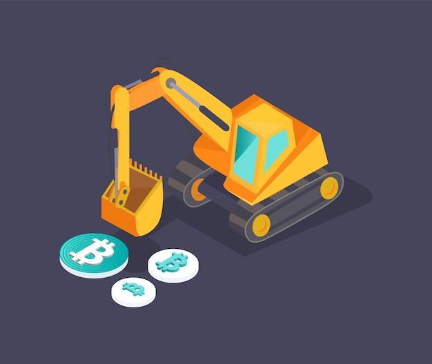 Bitcoin dollar and euro set