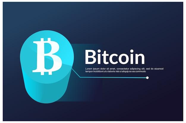 Графика сайта биткойн приземление - криптовалюта