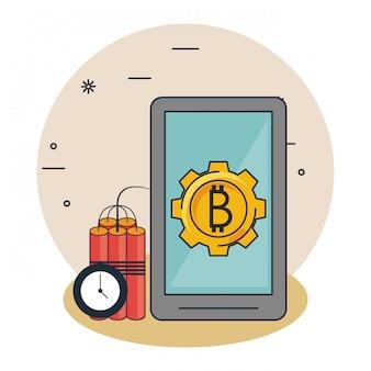 Bitcoin mining cartoons