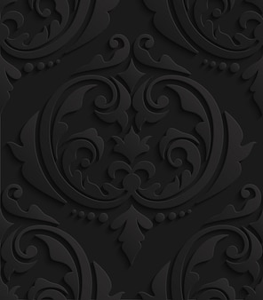 검은 3d 다 마스크 완벽 한 패턴