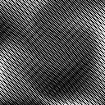Black abstract background with black and white halftone texture circles pattern for wallpa