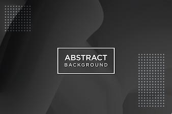 Черный абстрактный фон