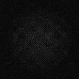 Черный абстрактный геометрический фон из малых геометрических форм современная концепция формы.