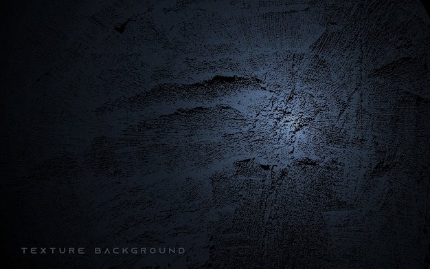 Black abstract gradient texture background