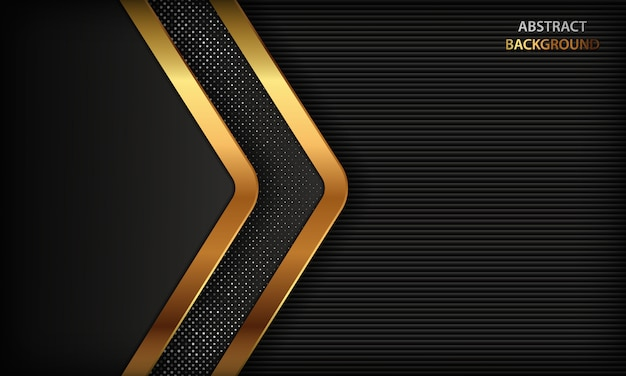 Black abstract luxury background.