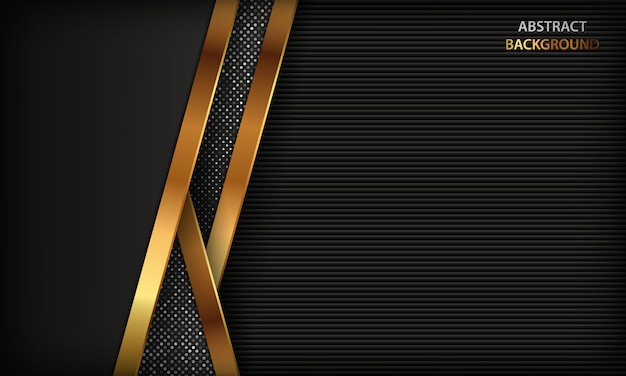 Black abstract luxury background