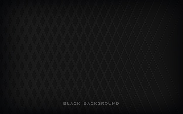 Black abstract pattern  background