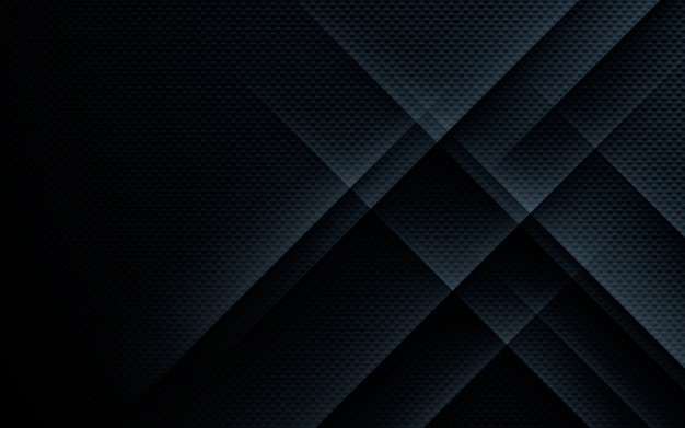 Black abstract texture geometric background