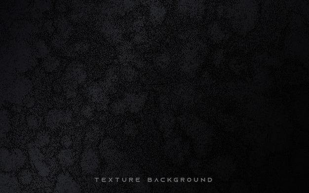 Черная абстрактная текстура гранж-фон