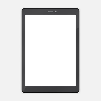 Black abstract trendy tablet pc